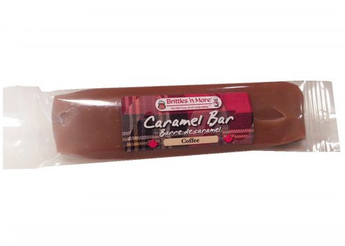 Caramel Bars - Packaged – Both Labels - coffee