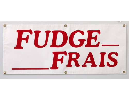 Accessories - Fresh Fudge Banner (French)