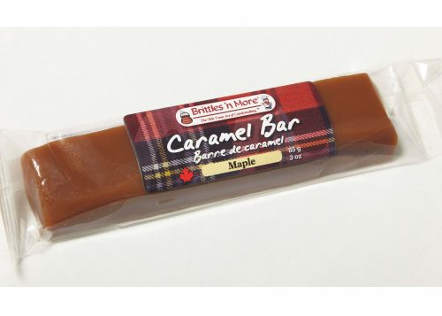 Caramel Bars - Packaged – Both Labels - maple