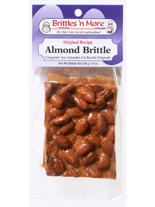 Brittles - Packaged – Headers - almond